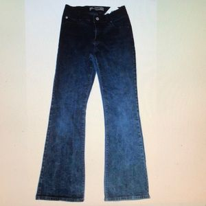 Gap Kids Girls Skinny Flare Jeans Faded Blue Wash